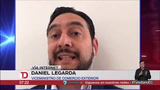 #EntrevistasTelediario | Daniel Legarda, viceministro de Comercio Exterior