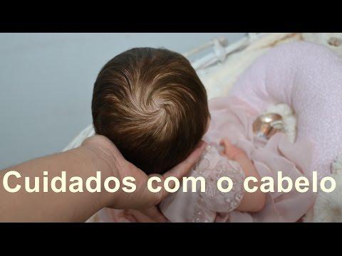Como pentear o cabelo do seu bebê reborn - Ana Paula Guimarães