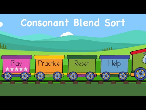 Consonant Blend Sort by Dezol