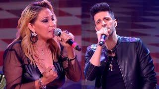 Lissa Vera y Mariano Zitto cantaron