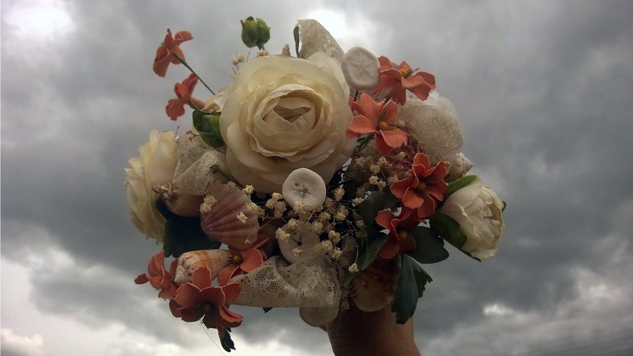 Seashell Flowers Bouquet Youtube