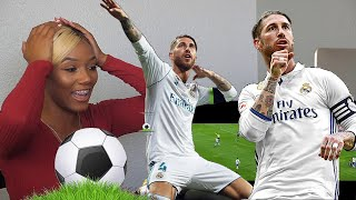 Clueless American football Fan Reacts to Sergio Ramos Football Defensive Highlights