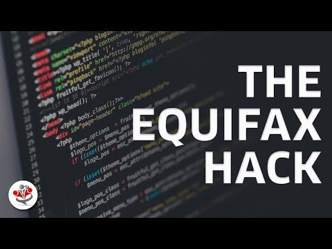 ADDRESSING THE EQUIFAX HACK  (full video coming soon)
