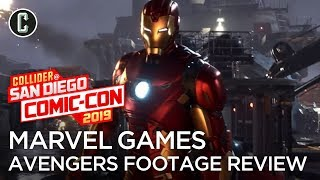 New Avengers Game Footage Review, Details and More - Marvel Games Panel San Diego Comic Con 2019