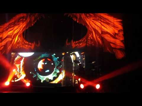Within Temptation - Intro + Paradise (Moscow, 16.10.2015)