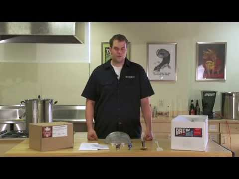 Brew In A Bag - Beer Home Brewing Kit Video Instructions