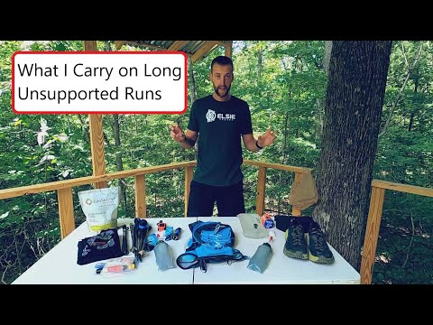 Self Supported Trail Running Gear - What I Carry On Long Unsupported Runs