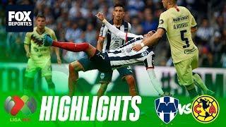 Rayados 2-1 América | HIGHLIGHTS | Final de Ida | Liga MX