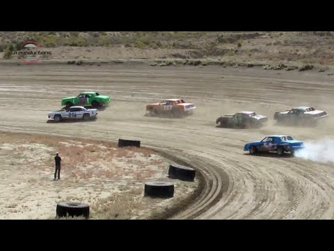 Desert Thunder Raceway Hobby Stock Heat Races 9/29/18-Day Race