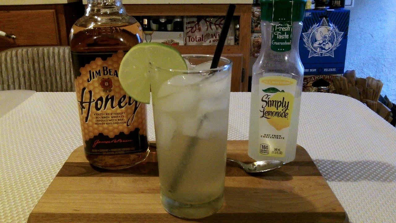How To Make A Jim Beam Honey Lemonade Cocktail Mixed