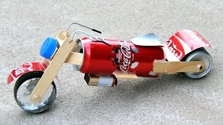 How to Make a Toy Motorcycle - Amazing Coca-Cola Motorcycle DIY thumbnail