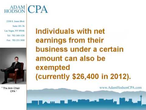 CAN I BE EXEMPTED FROM THE NEVADA STATE BUSINESS LICENSE FEE?