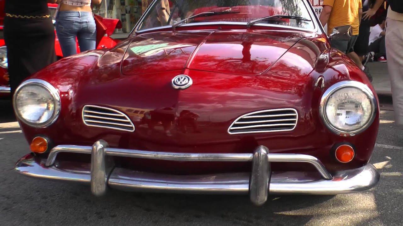 Miami Car Show >> Classic VW BuGs Pt.2 South Miami 2013 VolksBlast Vintage Beetle Bus Ghia Air-Cooled Car Show ...