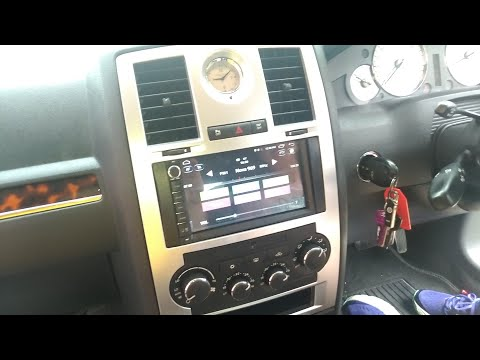 Installing Andriod Head Unit Stereo In Chrysler 300c