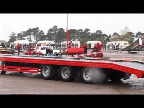Scott May's daredevil stunt show in Cheltenham