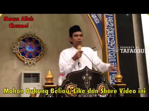Kocak Banget !! Tanya Jawab 'Kafir dengar Ceramah' Ustadz Abdul Somad Lc MA