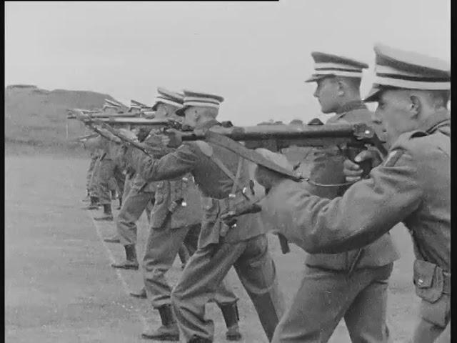 1962 Irish Army Cadets on the Firing Range