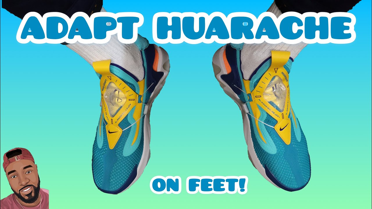 Adapt Huarache Youtube