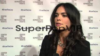 INTERVIEW - Katie Lee on tonight's event, on why it's imp...