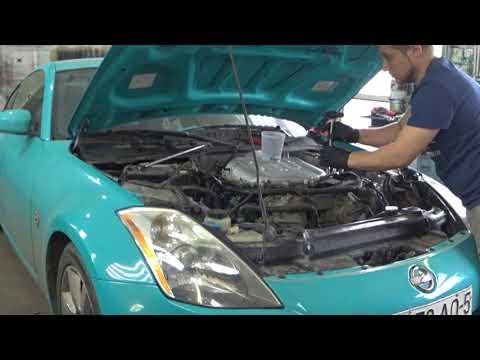 ШОК!!!СМОТРЕТЬ ВСЕМ!!! Сборка (ремонт) двигателя Часть 1 Nissan 350Z VQ35DE Part1