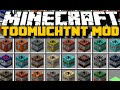 Minecraft: WITH OVER 48 NEW TNT BLOCKS - Too Much TNT Mod Ep.2