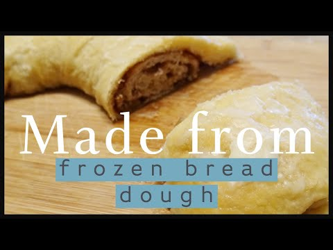 Easy Cinnamon Nut Roll | Frozen Bread Dough Recipes | Cinnamon Bread