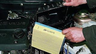 Как заменить воздушный фильтр. ВАЗ 2112, 2111