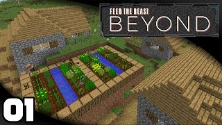 FTB Beyond - Ep. 1: In Search of a Home | Minecraft Modded Survival Let