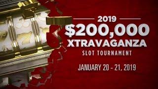 $200,000 Xtravaganza Slot Tournament - San Manuel Casino