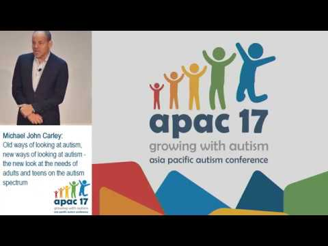 The New Look of Autism. Keynote in Australia. September, 2017