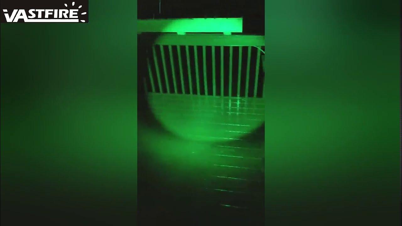 VASTFIRE Zoomable Green/Red/UV Hunting Flashlight Deer Blood Tracker Light Night Vision Flashlight