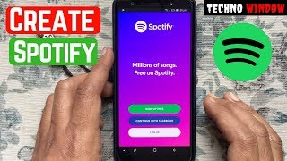 How to Create New Spotify Account on Android