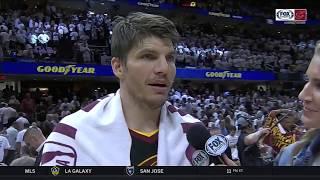 Kyle Korver on LeBron James: 'He's made of metal' | CAVS-CELTICS POSTGAME | NBA PLAYOFFS