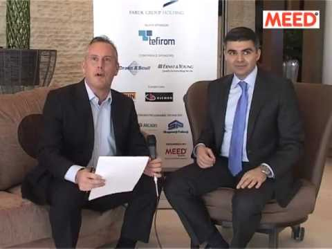 Hawre Daro, CEO, Faruk Group Holding speaks exclusively to MEED at Kurdistan Projects 2013