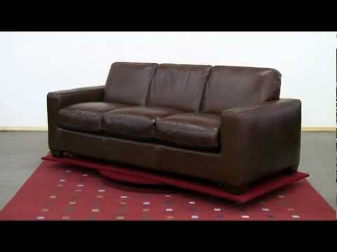 The Rubicon (B534) Queen Leather Sleeper Sofa By Natuzzi Editions Review At Sleepers In Seattle