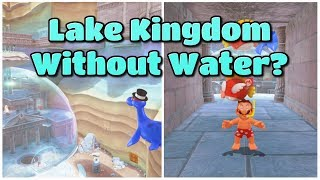 Lake Kingdom WITHOUT Any Water - Super Mario Odyssey