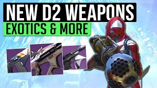 Destiny 2 Gear | DUBIOUS VOLLEY! - New Gear System, Exotic Gameplay, Foundries & More!