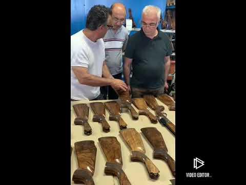Turkish Walnut AKKAR Silah Fabrikası