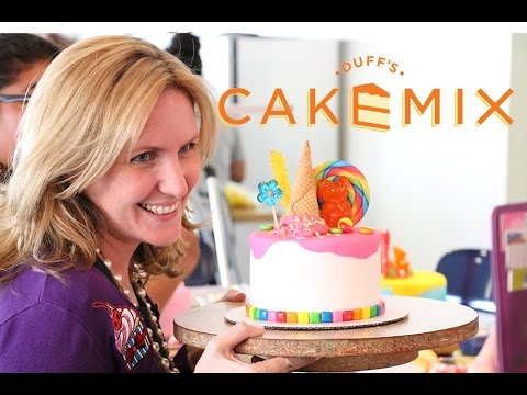 IceCream Candy Cakes @ Duff's Cakemix with DUFF GOLDMAN & 5 Awesome Subs