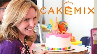 IceCream Candy Cakes @ Duffs Cakemix with DUFF GOLDMAN & 5 Awesome Subs