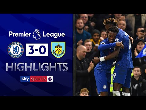 Hudson-Odoi scores his first in the Premier League | Chelsea 3-0 Burnley | Premier League highlights