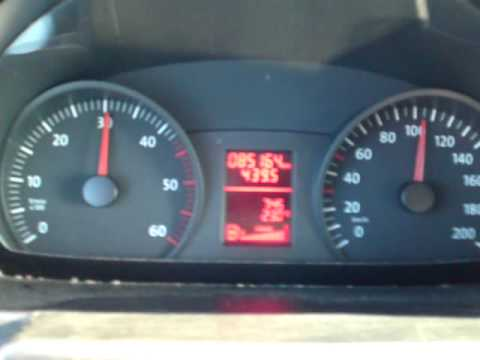 Volkswagen Crafter 2.5 TDI Acceleration 0-120 km/h