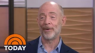 J.K. Simmons On Perks Of Voiceover Acting: 'You Don't Have To Shave' | TODAY