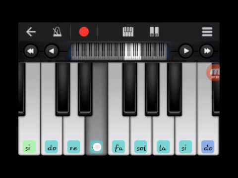 Republik sandiwara cinta-tutorial bermain piano ( walk band )