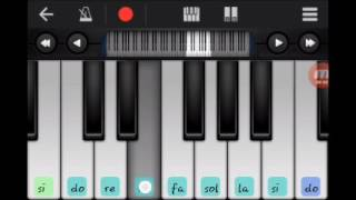 Republik sandiwara cinta-tutorial bermain piano ( walk band )
