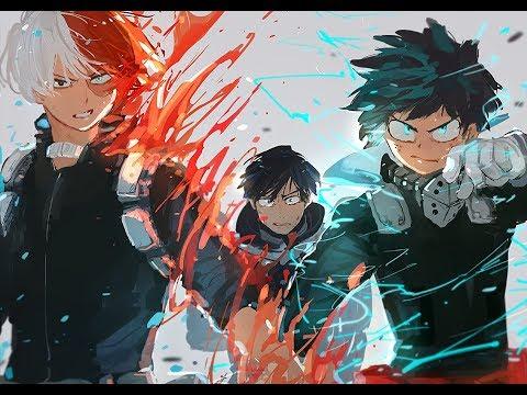 Boku no Hero「AMV」TRAGEDY ETERNITY   MYTH  ROID ✔