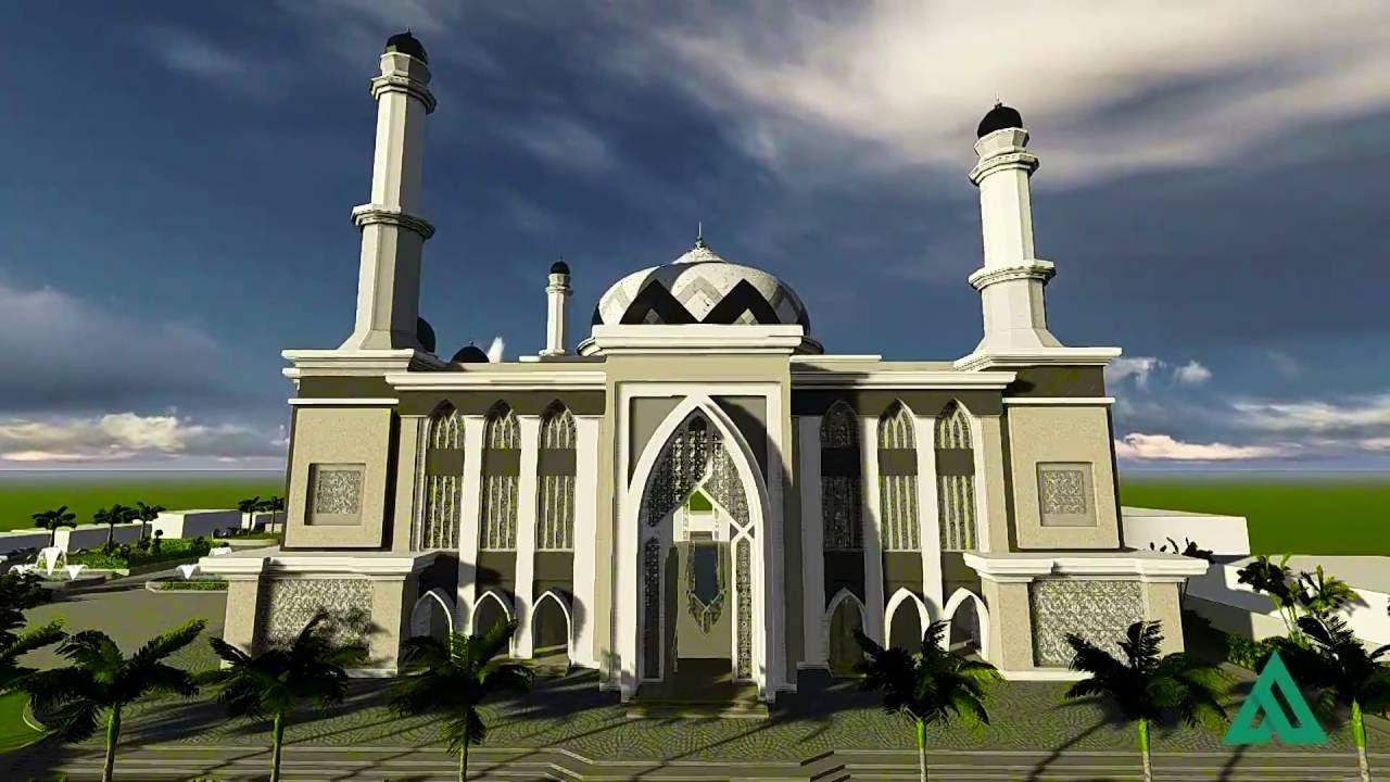 Animasi  Masjid  by arceto34 YouTube