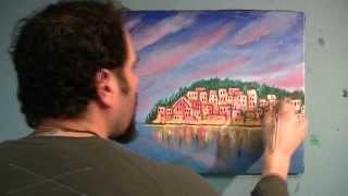 The Loaded Brush Joe Riso  Time-lapse painting