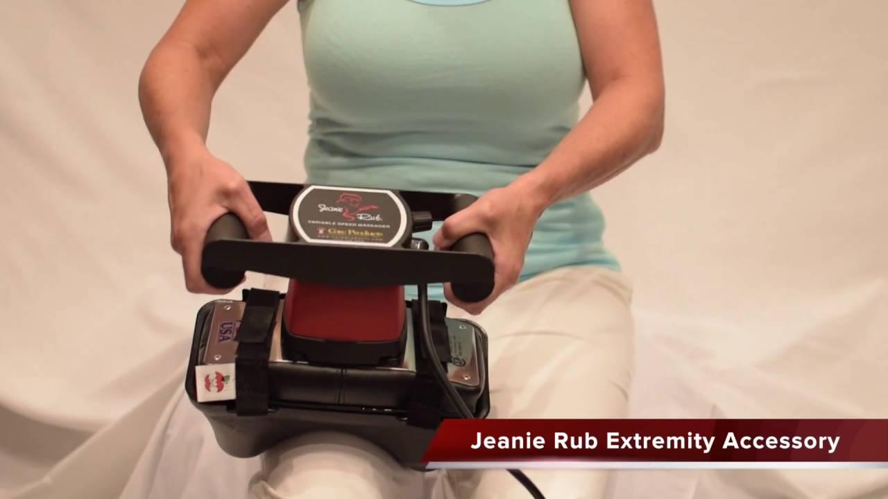 jeanie rub extremity accessory acc897 - Jeanie Rub Massager