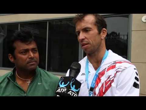 Australian Open 2014 Paes Stepanek Interview